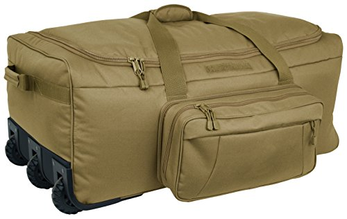 Code Alpha Mini Monster Wheeled Deployment Bag, Coyote by Code Alpha