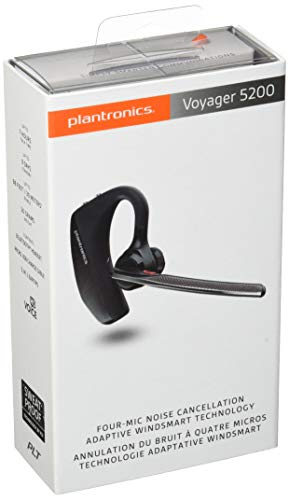 Plantronics Voyager 5200 Bluetooth Headset Black (20350003)