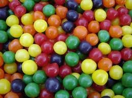 Assorted Fruit Sour Chewy Candy 2lb - Candy Balls Sours Fruit