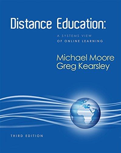Distance Education: A Systems View of Online Learning (What's New in Education)