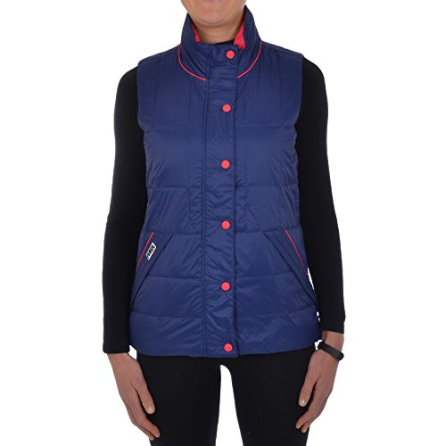 Jacket Womens Puffa Down Navy Bodywarmer Quilted Lightweight Sleeveless Gilet OFxZHq0
