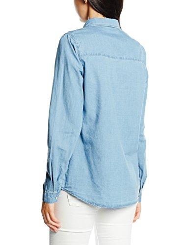 Vila Lu - Camisa Mujer Azul