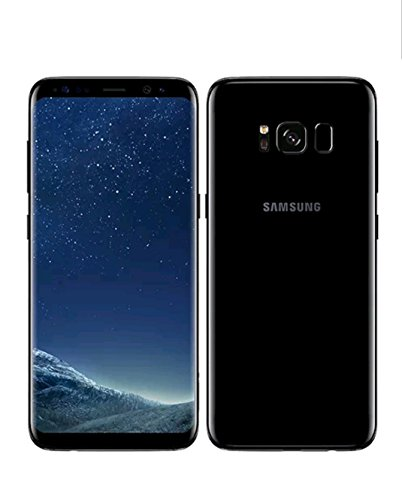 Samsung Galaxy S8, G950FD 64GB Smartphone, Midnight Black, Factory Unlocked (International Version)