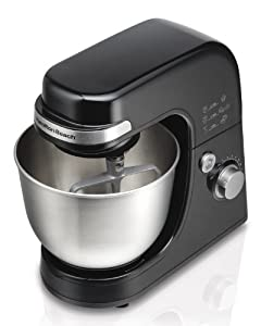 Hamilton Beach 63390 Stand Mixer : did not seem to heat up and was easy to clean