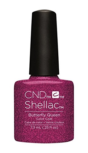 Amazon Cnd Shellac Nail Polish Butterfly Queen 011 Lb