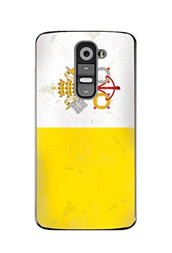 Carcasa bandera vaticano Vintage para LG G2: Amazon.es ...