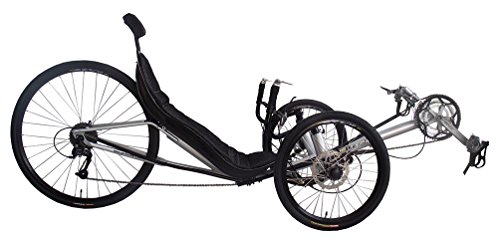 Performer JC70 Recumbent Trike (27S, FRP seat) (Yellow)