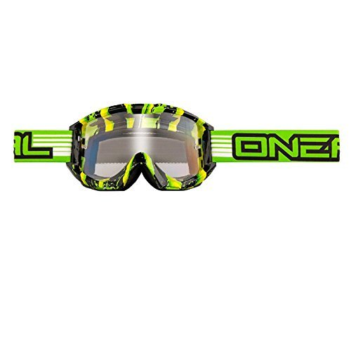 O'Neal B1 Crawler goggles green/black goggles by (Oneal B1 Goggle)