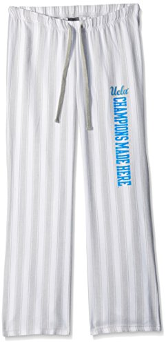 Camp David NCAA Woodstock Women's Flared Flannel Pant with Vertical Stripe, Ucla Bruins, Small (Ncaa Drawstring Bruins Ucla)