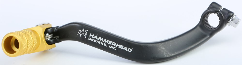 Hammerhead Forged Shift Lever 94-08 SUZUKI RM250 BLACK//GOLD