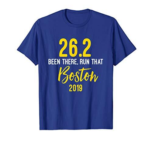 (26.2 Been There Run That Boston Shirt - Tshirt)