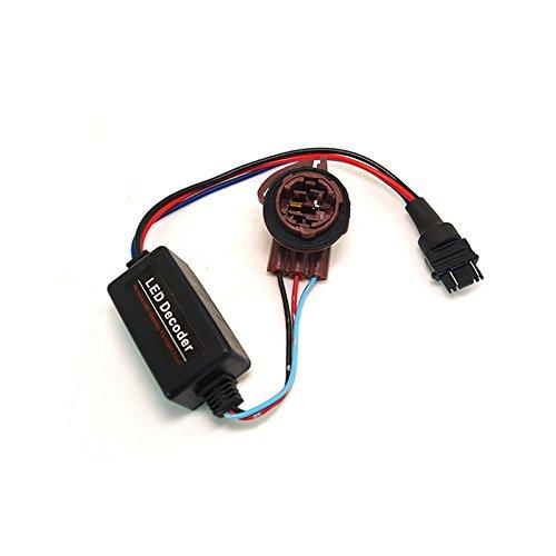 FEELDO DC12V 3157B LED Light Warning Canceller Decoder Load Resistor NO-OBD Error NO Hyper Flash Adapter