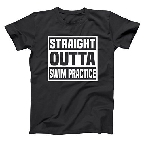 Straight Outta Swim Practice Mens Shirt