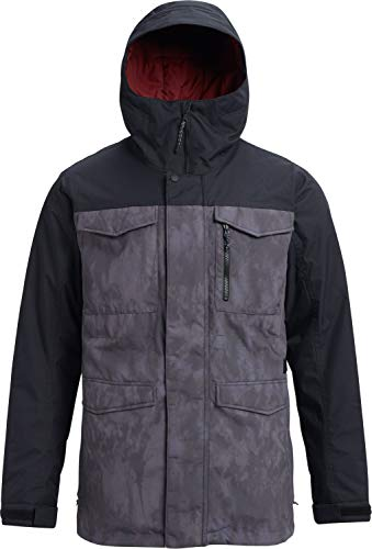 - Burton Men's Covert Jacket, Cloud Shadows/True Black, Medium