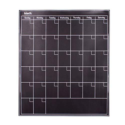 Calendario de nevera con imanes, calendario de pizarrón WDDH, calendario de borrado en seco, planificador mensual, agenda de...