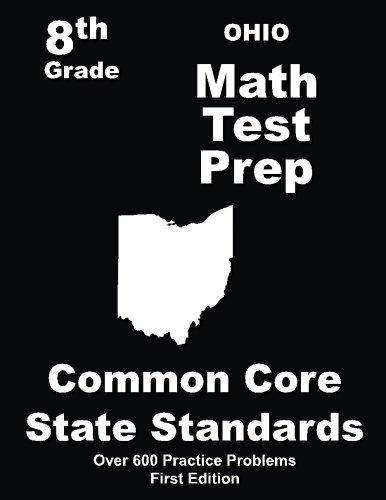 Ohio 8th Grade Math Test Prep: Common Core Learning Standards