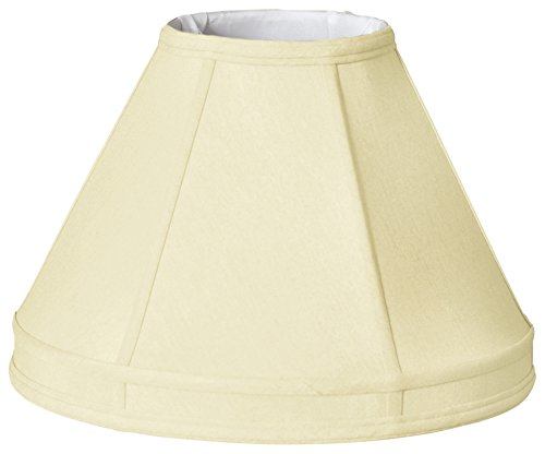Royal Designs Empire Gallery Basic Lamp Shade, Eggshell, 8 x 18 x 12.25
