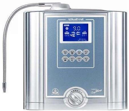 Alkabest by Alkalife alkaline water ionizer home counter top model machine with USA manufactured and engineered filter media included with unit by AlkaBest Alkalife