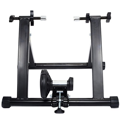 Goplus Portable Magnet Steel Bike/Bicycle Indoor Exercise Trainer Stand