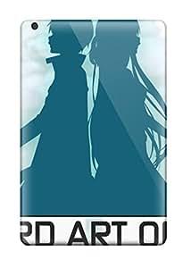 Ipad High Quality Tpu Case/ Sword Art Online Wallpaper (kirito And Asuna) TwWGmDm6290BmOnn Case Cover For Ipad Mini/mini 2