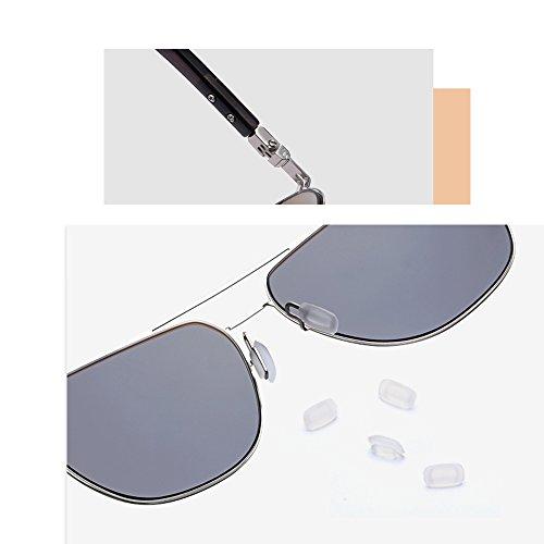 Anti pour Verres PolariséS Gray TESITE UV Black Lunettes Hommes Soleil De 100 w8qCdCE
