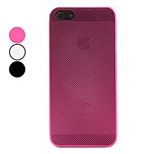 xiao Mesh Design Aluminium Case for iPhone 5/5S (Assorted Colors) , Silver