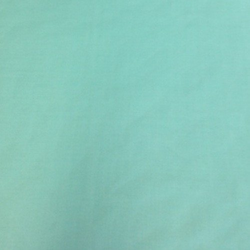 Cotton Polyester Broadcloth Fabric Apparel 45 (10 YARD, Aqua Blue)