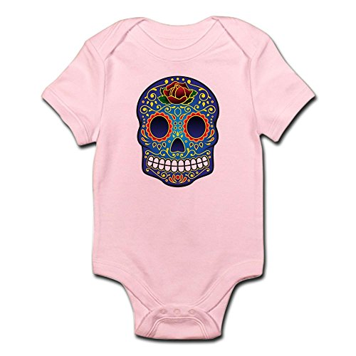 CafePress Sugar Skull Infant Bodysuit Cute Infant Bodysuit Baby Romper