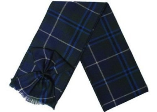 Scottish 100% Wool Tartan Ladies Mini Sash with Rosette - Douglas (Wool Douglas 100%)