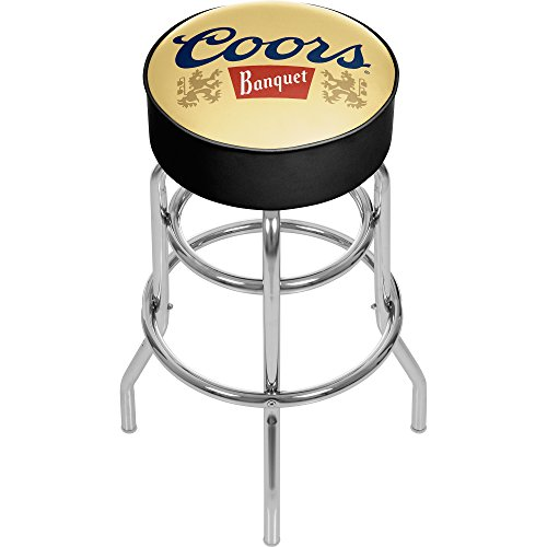 (Coors Banquet Padded Swivel Bar Stool)