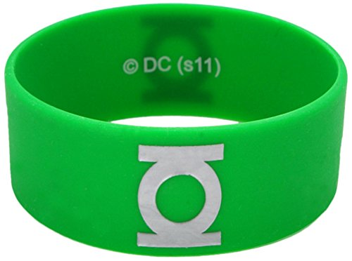 Green Lantern Rubber Bracelet