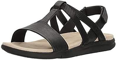 Hush Puppies Black Flat Sandal For Women