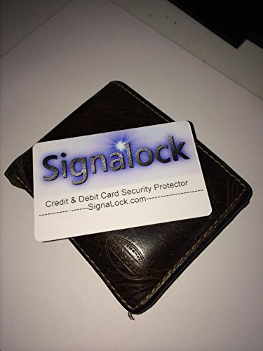 Credit & Debit Card Security Protector RFID Blocking by SignaLock