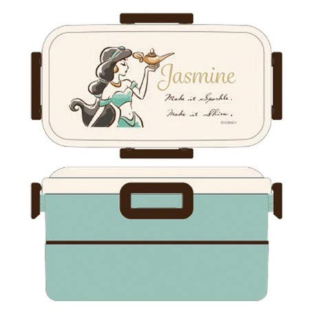 [Disney Aladdin] PFLW42Tier Bento Box (Jasmine), Princess Elegant Flattering 418099