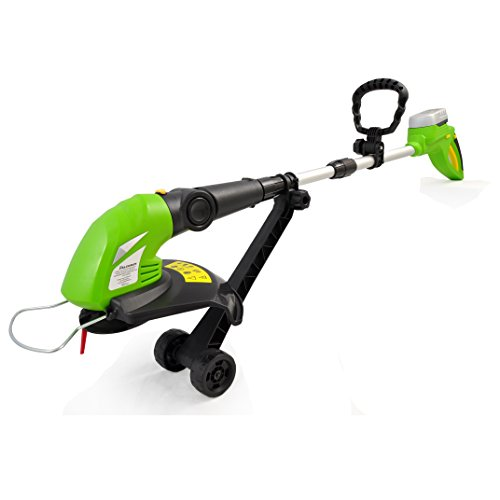 SereneLife Grass Cordless Clippers Power Edge Trimmer with Rechargeable String Trimmer - Electric 18 Volt Rechargeable Battery Powered Weed Eater - AZPSLCGM25 by SereneLife