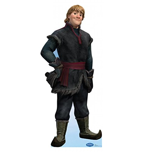 [Kristoff - Disney's Frozen - Advanced Graphics Life Size Cardboard Standup] (Frozen Characters Kristoff Costume)