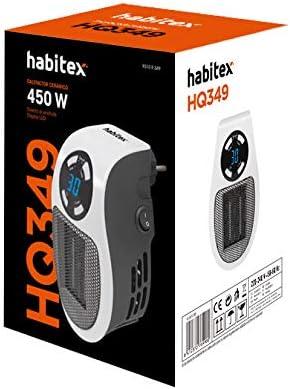 Habitex HQ349 - Calefactor CERÁMICO Mini: Amazon.es: Hogar