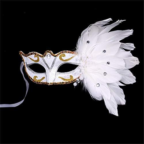 NszzJixo9 Women Venetian Mask Masquerade Fancy Dress