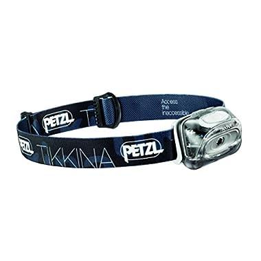 Petzl - TIKKINA Headlamp 80 Lumens, Black (FFP)