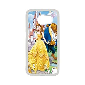 [bestdisigncase] For Samsung Galaxy S6 -Beauty and The Beast Pattern PHONE CASE 18