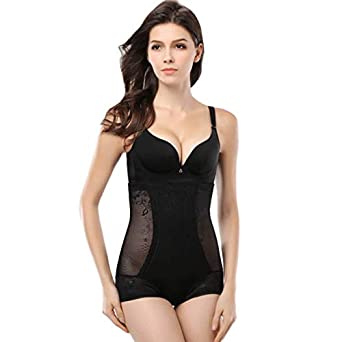 1df202d3d4 HITSAN INCORPORATION Plus Size Ultra-Thin Waist Cincher Hot Shapers  Transparent Full Body Corset for