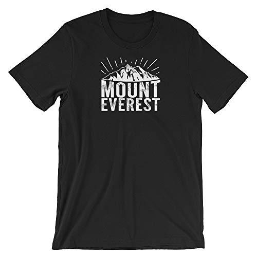 Mount Everest Unisex Shirt, Mountain Climbing T-Shirt, Rock Climbing Tees, Hiking, Trailing, Scaling, Outdoor, Gift for Climbers