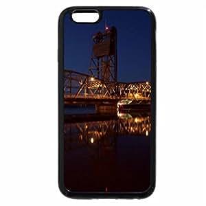 iPhone 6S / iPhone 6 Case (Black) lift truss bridge