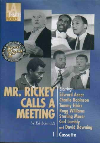 Book cover from Mr. Rickey Calls A Meetingby Edward Asner