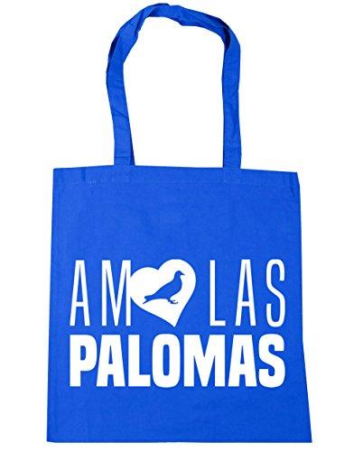 Gimnasio Azul Bolsa Amo 42cm Palomas Capacidad Playa X Compra Aciano 38cm Litros Hippowarehouse Con Asas Para De Bolso 10 Las 7PUdnwqY