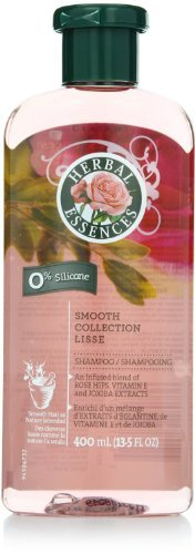 Herbal Rose Shampoo - Herbal Essences Smooth Collection Shampoo 13.5 Fl Oz (Pack of 3)