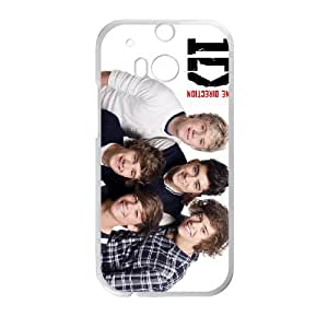 1D HTC One M8 Cell Phone Case White xkhk