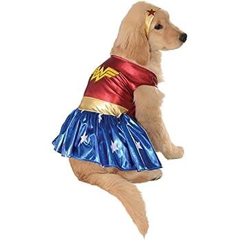 "Wonder Woman Dog Costume Size: Small (11"" L)"
