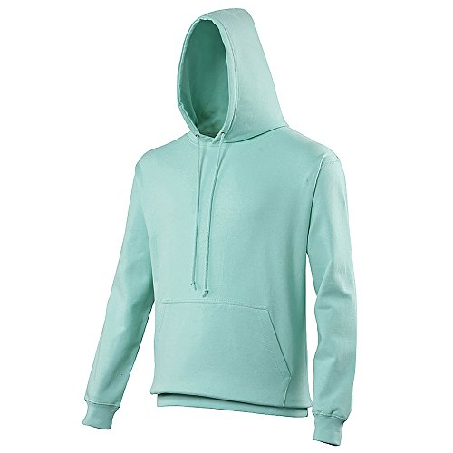 Pullover College Hoodie - 46 Different Colours Available - Peppermint - -
