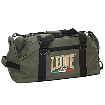 Leone 1947 - Bolsa de Deporte, Color Verde, Talla única, código AC90